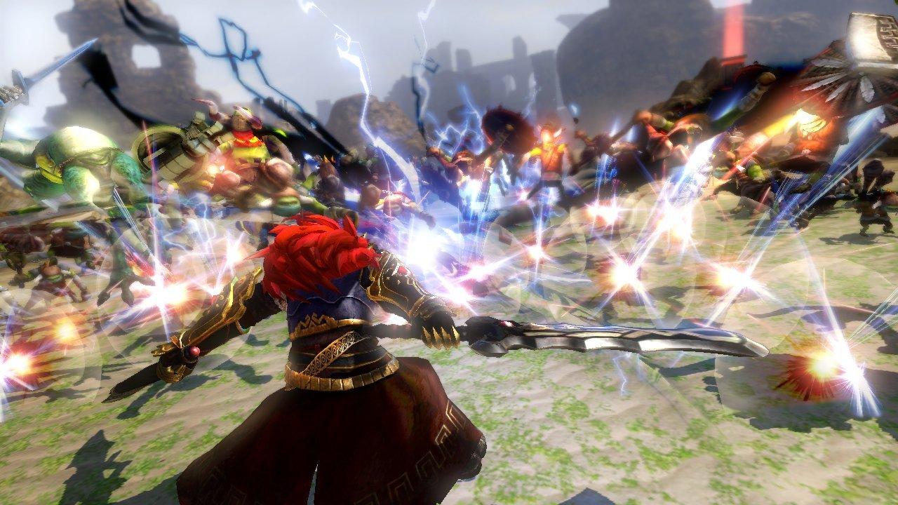 Elimina legiuni intregi de inamici jucand ca Link, Zelda, Midna