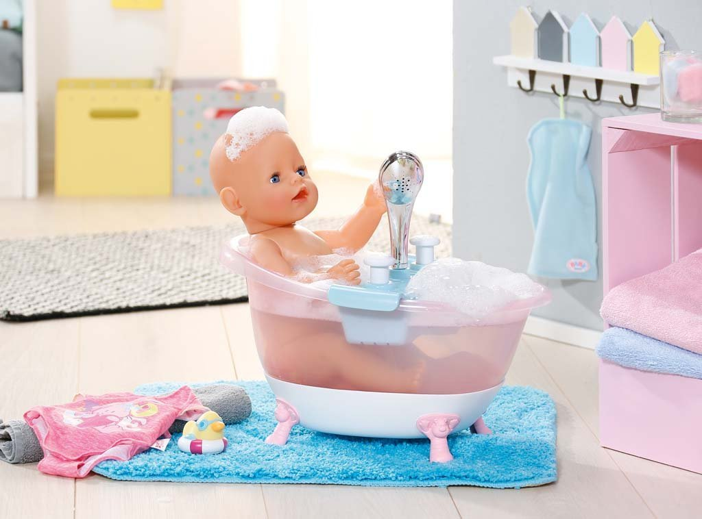 jucarie accesorii baby born interactive bathtub with foam stoc epuizat okazii. Black Bedroom Furniture Sets. Home Design Ideas