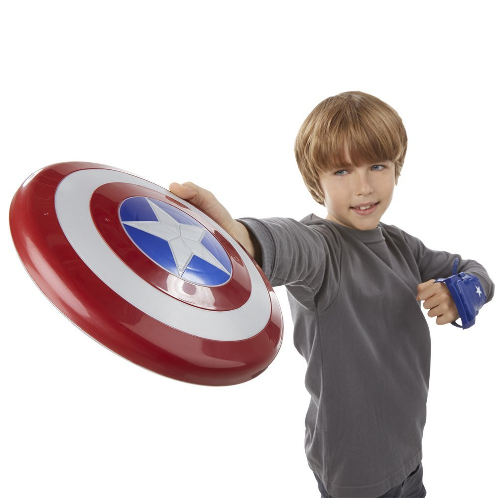 Jucarie Captain America Civil War Magnetic Shield and Gauntlet