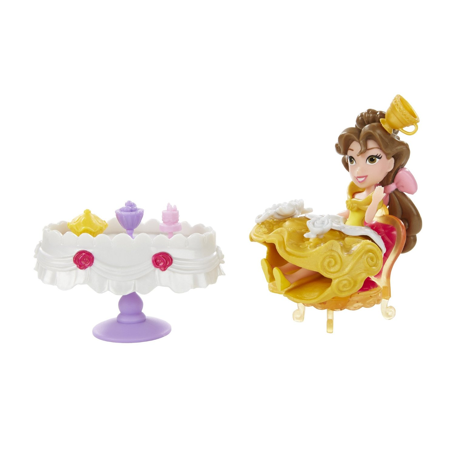 Hasbro Disney Princess Little Kingdom Belle S Enchanted Dining Room