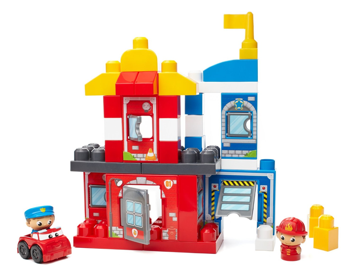 Jucarie mega bloks first builders rescue squad building for Builders first