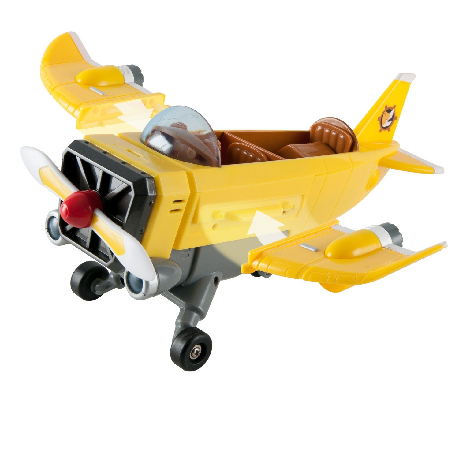 Jucarie Sonic Boom Tails' Plane with Tails Figure ...