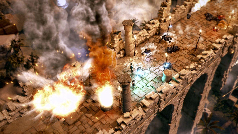Ai prima experienta co-op cu 4 jucatorii cu Lara Croft