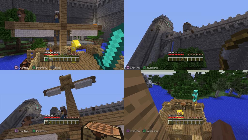 Minecraft are doua moduri de joc creative si survival