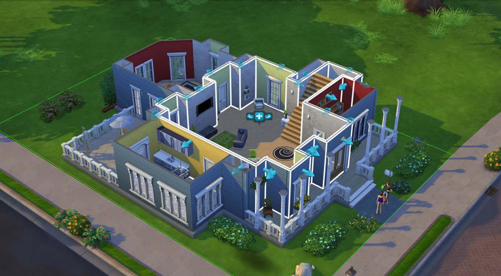 Privire de ansamblu a comunitatii Sims