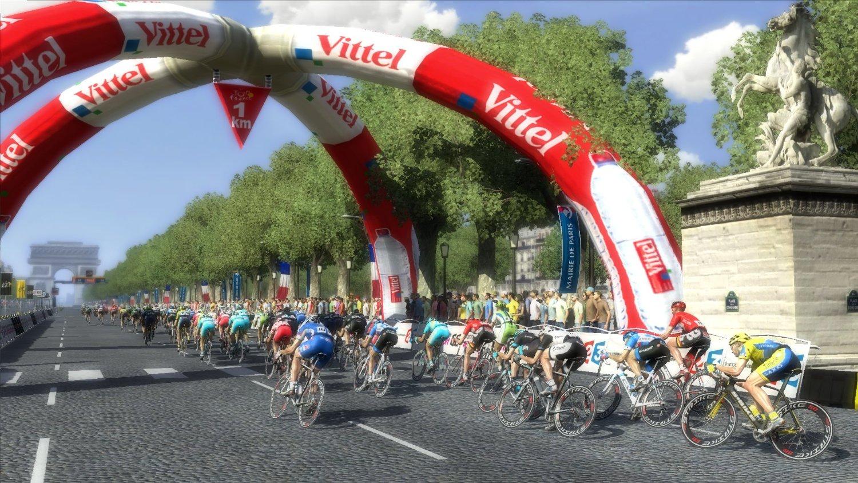 Ciclism Arcul de Triumf din Franta