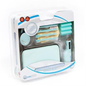 13 In 1 Travel Kit For Nds Lite And Dsi Ice Blue Coolgear