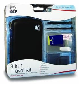 8 In 1 Travel Kit For All Ds Models - Black