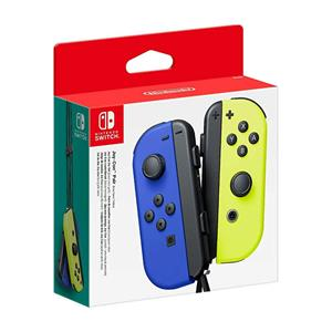 Accesorii Nintendo Switch Joy-Con Pair Neon Blue And Neon Yellow