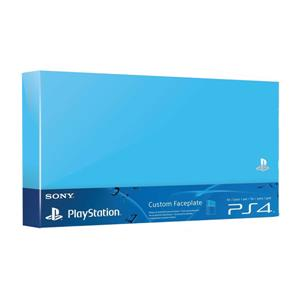 Accesoriu Sony Official PlayStation 4 Custom Faceplate Blue PS4