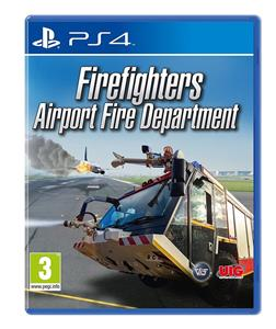 Airport Fire Department The Simulation PS4