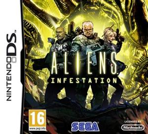Aliens Infestation Nintendo Ds