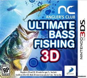 Anglers Club Ultimate Bass Fishing Nintendo 3Ds