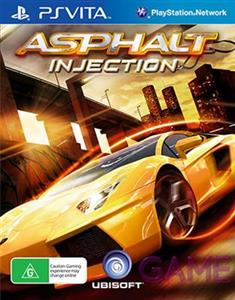 Asphalt Injection PS Vita