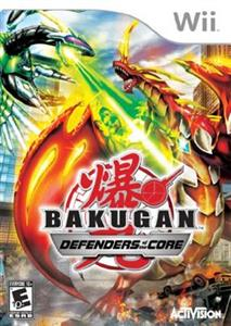 Bakugan Defenders of the Core Nintendo Wii