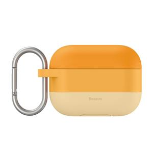 Baseus Cloud Hook Silica Gel Protective Case For Pods Pro Orange