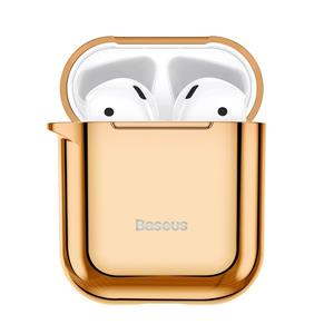 Baseus Shining Hook Case For Airpods 1/2Nd Generation Gold