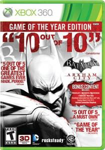 Batman Arkham City Game of the Year Edition Xbox360