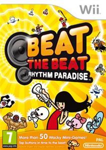 Beat The Beat Rhythm Paradise Nintendo Wii