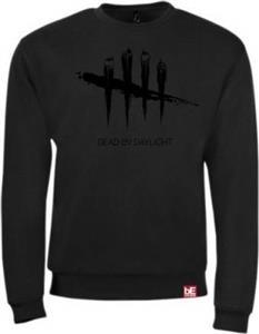 Bluza Dead By Daylight Black On Black Sweater M
