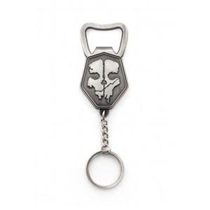 Breloc Call of Duty Ghosts Brushed Metal Skull with Bottle Opener
