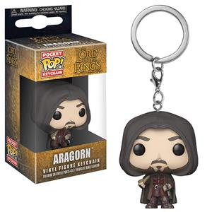 Breloc Pocket Pop! The Lord Of The Rings Aragorn Vinyl Figure Keychain