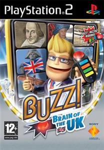 Buzz Brain Of The UK Ps2