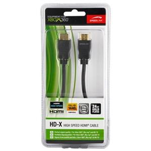 Cablu High Speed HDMI HD-X SPEEDLINK 1.5m Xbox 360 si Blu-ray