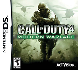 Call of Duty 4 Modern Warfare Ninterndo Ds