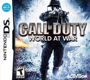 Call of Duty World at War Nintendo DS
