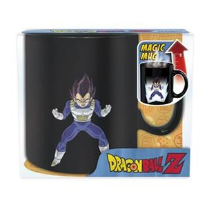 Cana Dragon Ball Mug DBZ Vegeta Heat Change