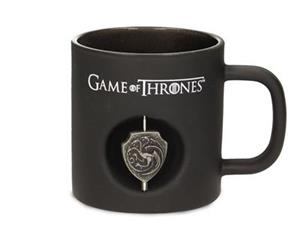 Cana Game Of Thrones Targaryen Spinning Logo Black