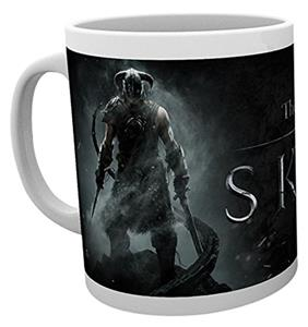 Cana Gb Eye Skyrim Dragon Borne Mug Multi Colour