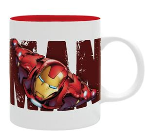 Cana Marvel Iron Man Design 320ml Mug