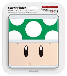 Carcasa Nintendo Official Cover Plate For New 3DS Green Toad Nintendo 3DS