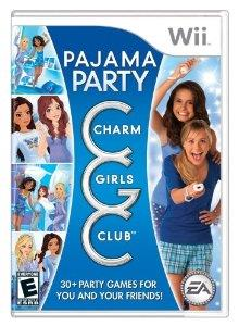 Charm Girls Club Pajama Party Nintendo Wii