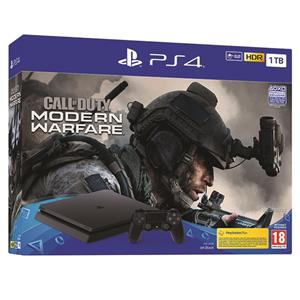 Consla Sony PlayStation 4 Slim 1TB Call Of Duty Modern Warfare Back