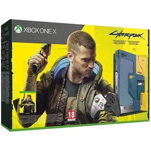 Consola 1TB Cyberpunk 2077 Limited Edition Xbox One X