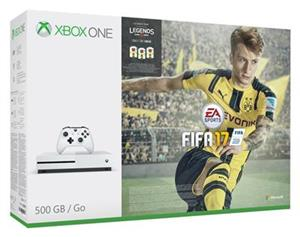 Consola Microsoft Xbox One S 1TB Fifa 17 Limited Edition Bundle