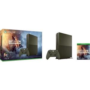 Consola Microsoft Xbox One Slim 1 TB Olive Green Joc Battlefield 1 And 1 Month EA Access