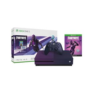Consola Microsoft Xbox One Slim 1TB Dark Violet + Fortnite