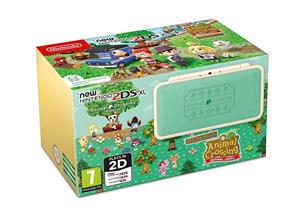 Consola NEW Nintendo 2DS XL Animal Crossing Edition + Welcome Amiibo