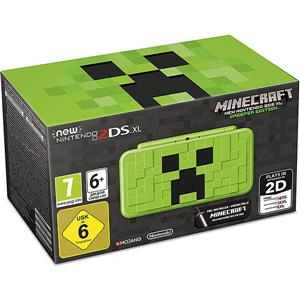 Consola NEW Nintendo 2DS XL Console Creeper Edition + Minecraft