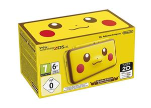 Consola Nintendo New 2DS XL Pikachu Edition