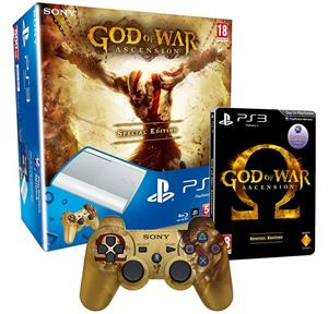 Consola PlayStation 3 500GB Super Slim Limited Edition God of War Ascension