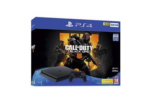 Consola PlayStation 4 500GB Black Call Of Duty Black Ops 4