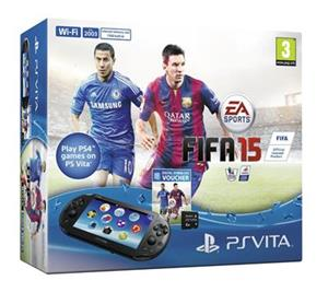Consola PlayStation Vita Wifi Cu FIFA 15 Voucher Plus 4GB Memory Card