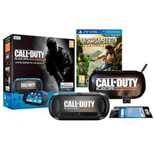 Consola PlayStation Vita WiFi With Call Of Duty Black Ops II Declassified And Uncharted Golden Abyss And 4GB Memory Card And Case