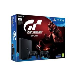 Consola Sony PlayStation 4 Console 1TB + Gran Turismo Sport + Controller DualShock 4