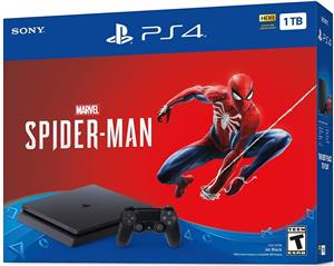 Consola Sony PlayStation 4 Pro 1TB Black + Marvel's Spider-Man PS4